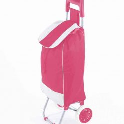 Dramaten Shoppingvagn väska med hjul – rosa – helt ny