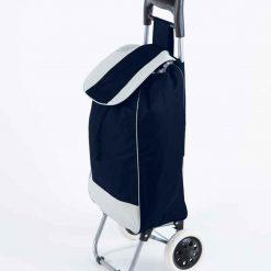Dramaten Shoppingvagn väska med hjul – blå