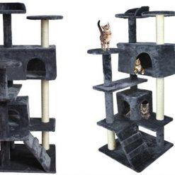 Duchess katträd – Ett 7-nivåers klätterparadis för din katt 120cm